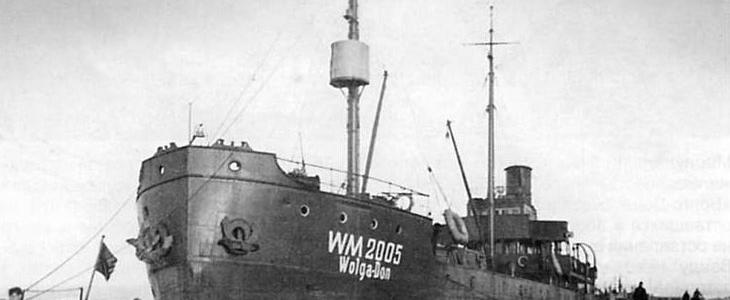 Wreck Wolga-Don (Волга-Дон)-удаление 17км